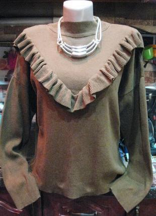 Нарядный свитерок от new look   р-р l -xl