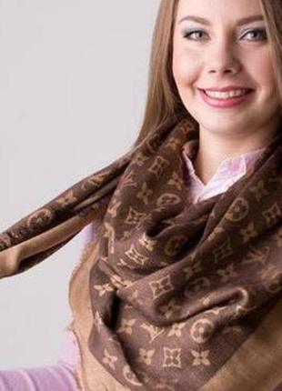 Большой шарф-платок