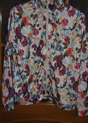 Кофта monki в цветочный принт