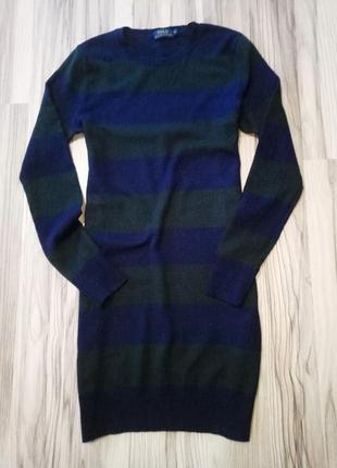Теплое платье 100%merino wool