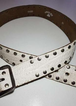 Ремень кожаный cowboys belt, 99*5 см, сост. отличное!