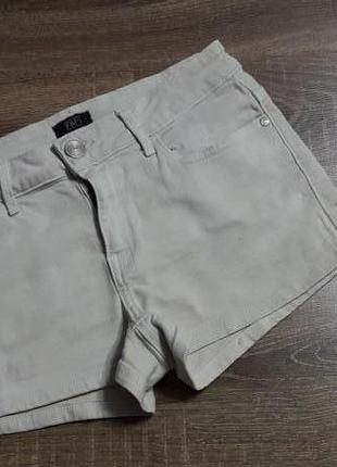 F&f шорты джинсовые, тянутся 8 размер