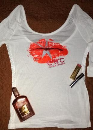 Блуза футболка cnc  блузка costume national cnc