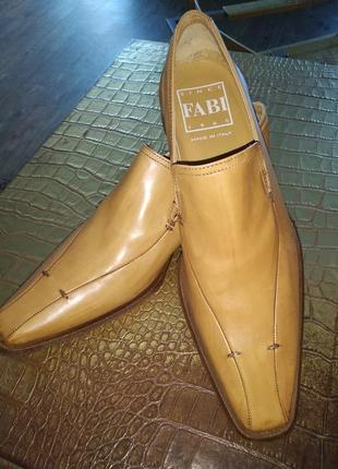 Фирменные итальянские туфли fabi