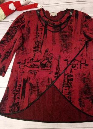 Блузка, туника, размер 50-52