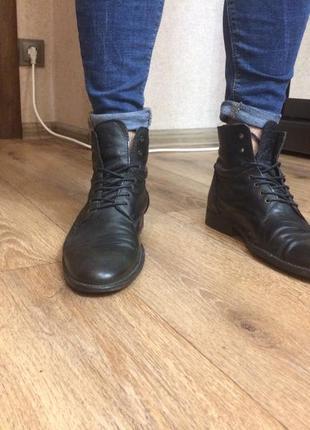 Мужские ботинки zara man