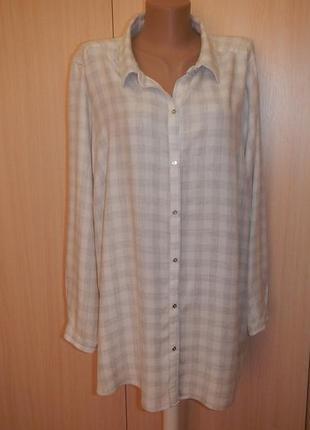 Рубашка блуза george р.24(52, 60)