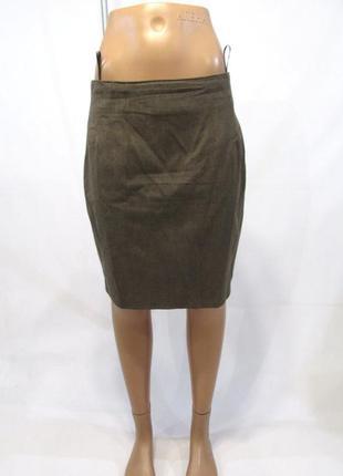 Брендовая теплая юбка из шерсти