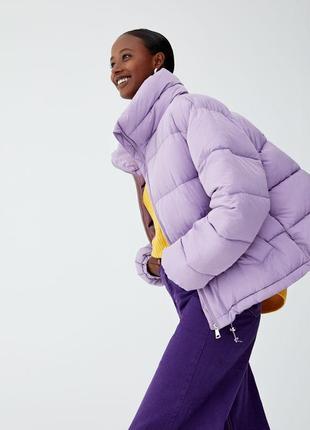 Новая объемная куртка pull&bear (xs-xl) pull&bear