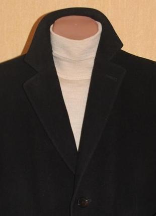 Эксклюзивное пальто шерсть/кашемир от легендарного voronin exclusive (размер 50)