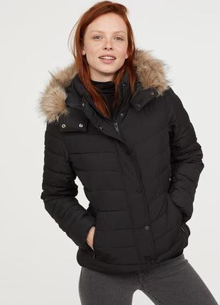 Утепленная куртка, 34р (xs), полиэстер 100%