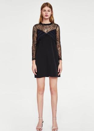 Маленькое черное платье zara