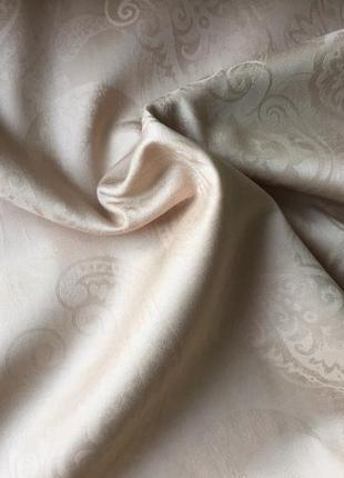 Євро комплект білизни з сатин-жаккарду з простирадлом на резинці, шана-текстиль