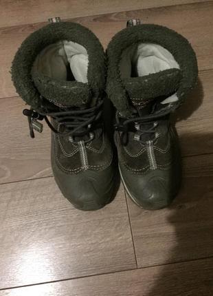 Продам ботинки columbia 34 р