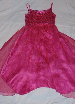 Платье новогоднее, для утренника, на утренник, для танцев