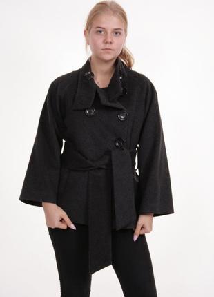 Супер обьемное кимоно oversized  пальто zara