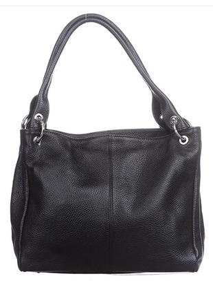 Кожаная черная сумка asia италия разные цвета