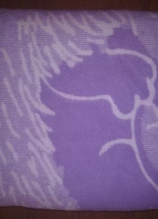 Одеяло детское хлопковое тм ярослав фиолетовое ежик размер 100*1403