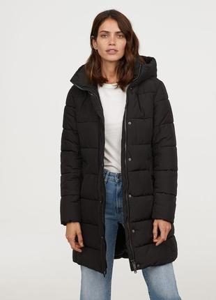 Длинная утепленная куртка, 34р (xs) - 36р (s), полиэстер 100%