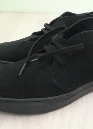 Туфли полуботинки мужские замшевые leonardo 42 размер италия