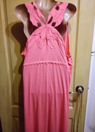 Шикарный сарафан платье с оригинальной спинкой george