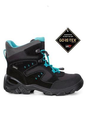 Зимние ботинки с мембраной gore-tex ecco snowboarder, 31 размер