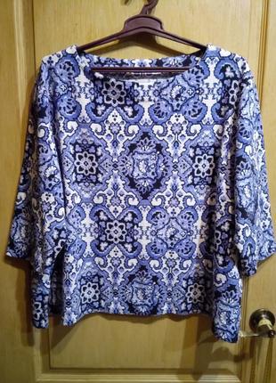 Супер батал! красивый свитер туника m&s