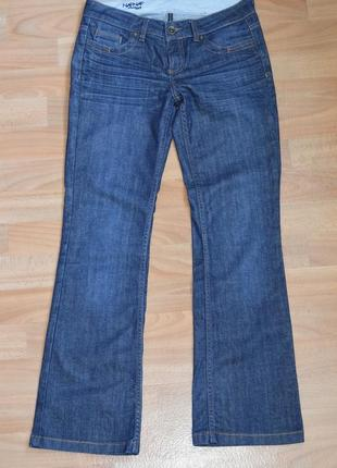 Синие джинсы naf-naf. 38(м)