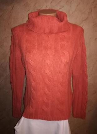 Тепленький свитер под горло loft