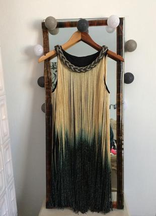 Плаття з бахромою