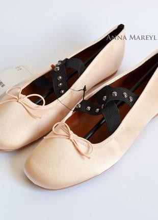 Балетки туфли h&m с пятнышками с дефектом3