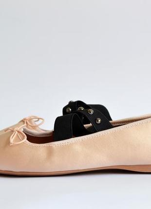 Балетки туфли h&m с пятнышками с дефектом4
