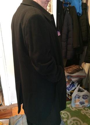 Стильное пальто зимнее мужское арбер, 58 размер
