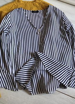 Блуза в полоску papaya