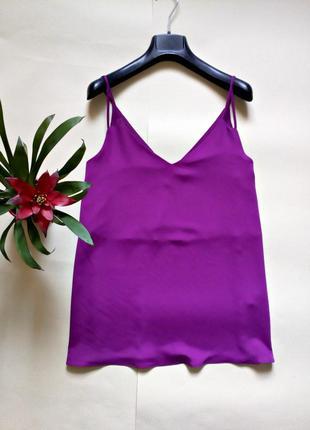 Базовая блуза на тонких бретелях 14