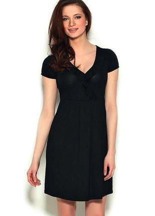 Трикотажное платье с коротким рукавом, размер xs-s