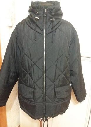 Стеганая куртка benger р.52-54.много вещей больших размеров.