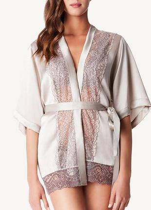 Шёлковый халат-кимоно от intimissimi