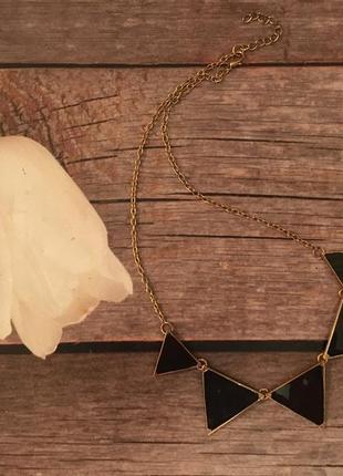 Бижутерия подвеска треугольники