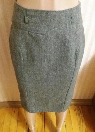 Теплая юбка на подкладке сзади воланы atmospheare 10/38