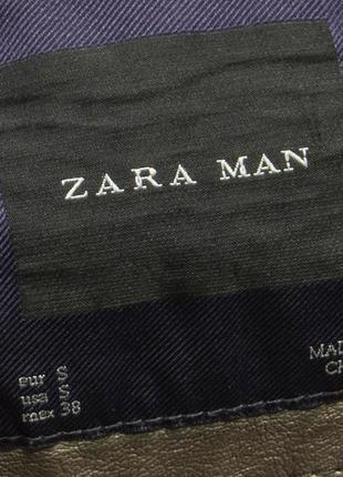 Куртка мужская еко кожа zara man размре s состояние отличное, есть микро но3