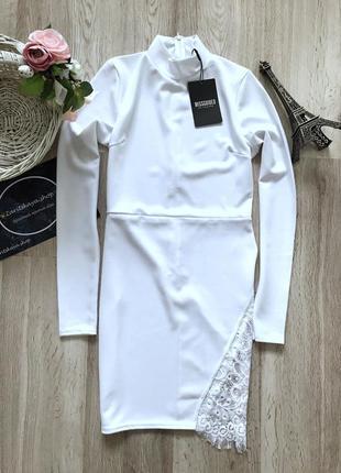 Красиве платтячко з ажурною вставкою✨від missguided💫