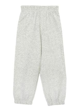 Теплые штаны, джоггеры на флисе, свободный крой, george, 146- 152, бирка