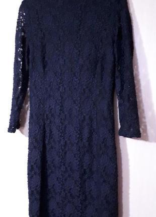 Платье гипюр zara