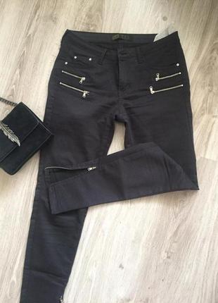 Новые джинсы zara с молниями