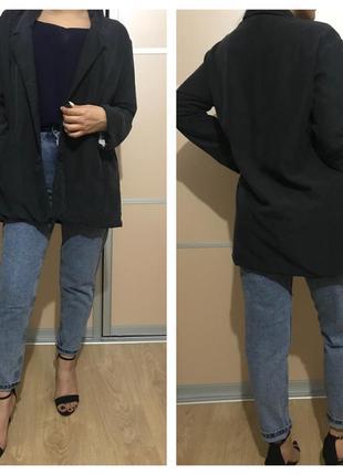Удлиненный пиджак-блейзер monki