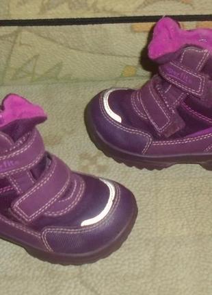 Зимние термо ботинки superfit gore tex 23 р