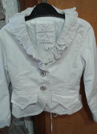 Нарядный пиджак на подкладке carbone