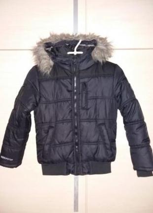 Куртка на мальчика 42рр    6-7 лет.   термо