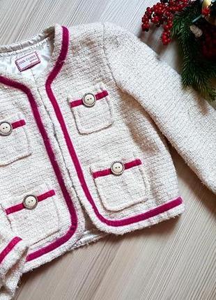 Пиджак теплый фирменный болеро накидка 4 года